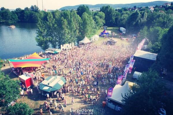 Holi Farbenfest Jena 2015